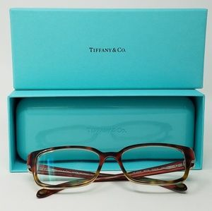 Tiffany & Co notes collection rx glasses with case
